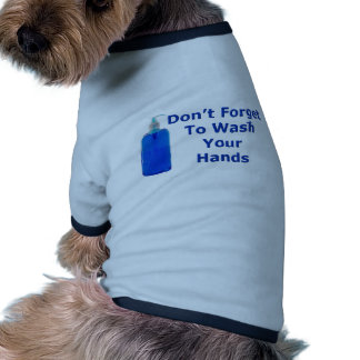 Wash Your Hands Doggie T-shirt