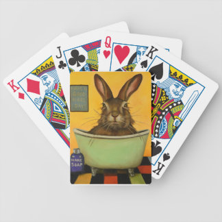 Wash Your Hare Bicycle Playing Cards