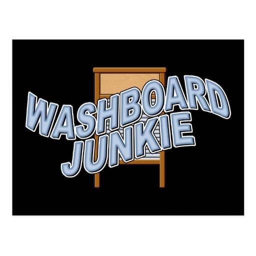 Washboard Junkie Postcards