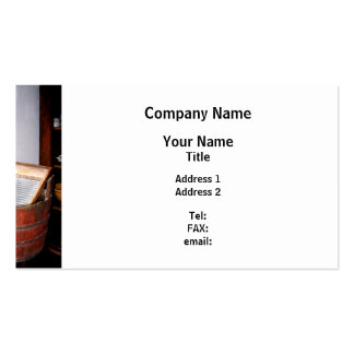 Washboard Pack Of Standard Business Cards