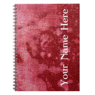 Washed Denim Design #10 @ Emporio Moffa Spiral Notebook