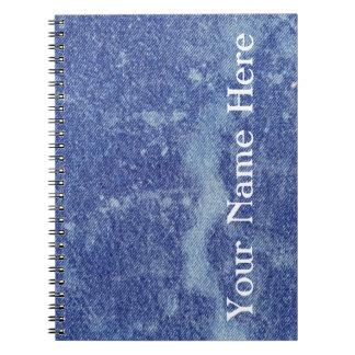 Washed Denim Design #12 @ Emporio Moffa Note Book