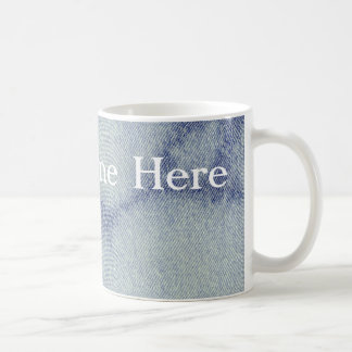 Washed Denim Design #1 at Emporio Moffa Coffee Mug