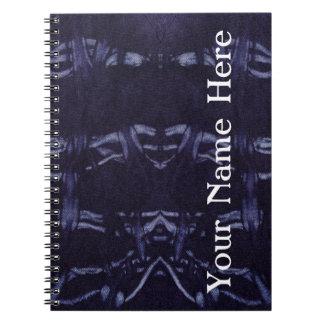 Washed Denim Design #8 @ Emporio Moffa Spiral Note Books