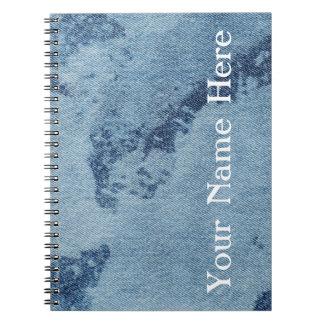 Washed Denim Design #9 @ Emporio Moffa Note Book