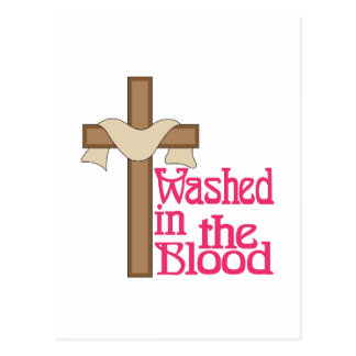 Washed In The Blood Postcard