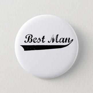 """Washed out """"Best Mam"""" design 6 Cm Round Badge"""