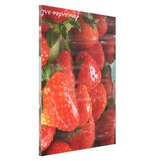 Washed Strawberries print