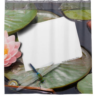 Washed Up Photos - Lilly Pad Edition Custom Photos Shower Curtain