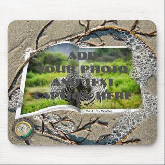 Washed Up Photos Mousepad - Seaweed Edition