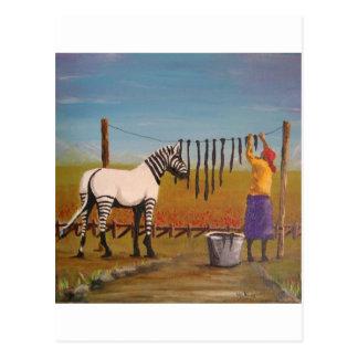 Washing Day Postcard