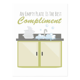 Washing Dishes Postcards