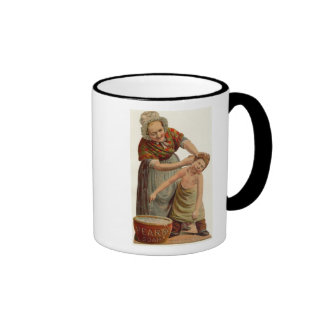 Washing Ears Ringer Coffee Mug