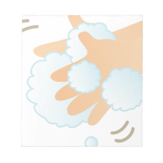Washing Hands Notepad