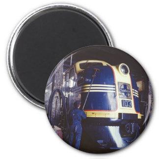 Washing the Locomotive Magnet