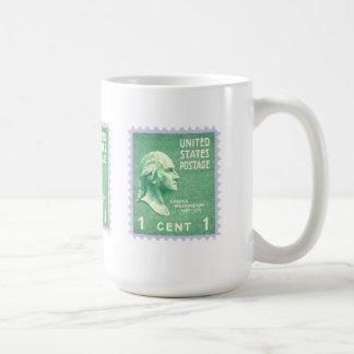 Washington 1 Cent Coffee Mug