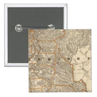 Washington 2 15 cm square badge