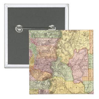 Washington 3 15 cm square badge