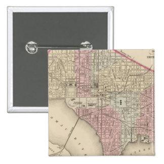 Washington 4 15 cm square badge