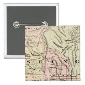 Washington 5 15 cm square badge