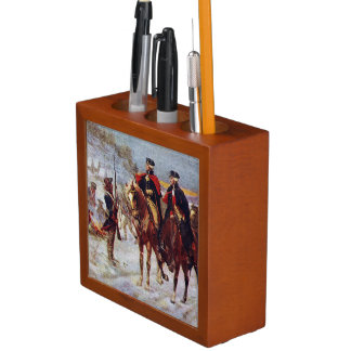 Washington and Lafayette at Valley Forge ~ Desk Organiser