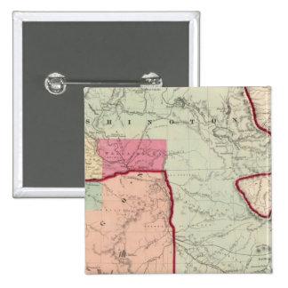Washington and Oregon 15 Cm Square Badge