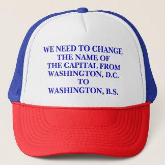 WASHINGTON, B.S. TRUCKER HAT