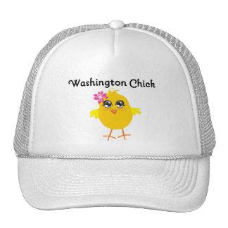 Washington Chick Trucker Hats
