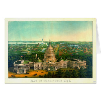 Washington City 1869 Card