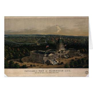 Washington City Dome of the U.S. Capitol (1856) Card