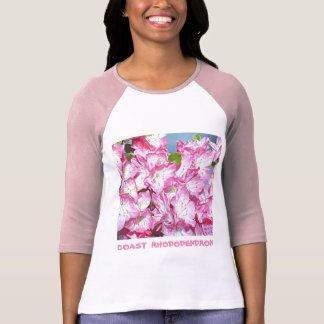 Washington Coast Rhododendron T-Shirt