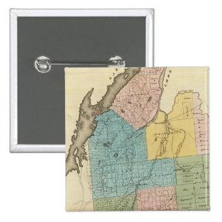 Washington County 15 Cm Square Badge