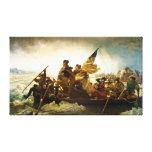 Washington Crossing the Delaware by Emanuel Leutze Canvas Print