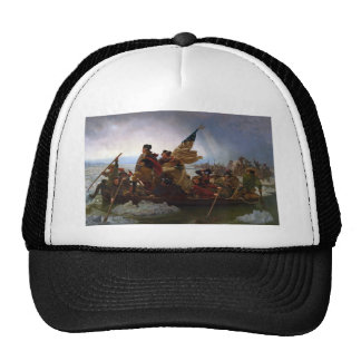 Washington Crossing the Delaware by Emanuel Leutze Trucker Hat