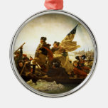 Washington Crossing the Delaware by Emanuel Leutze Christmas Ornament