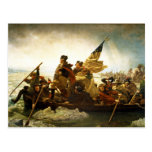 Washington Crossing the Delaware by Emanuel Leutze Post Cards