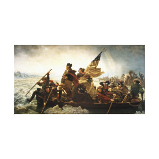 Washington Crossing the Delaware Canvas Prints