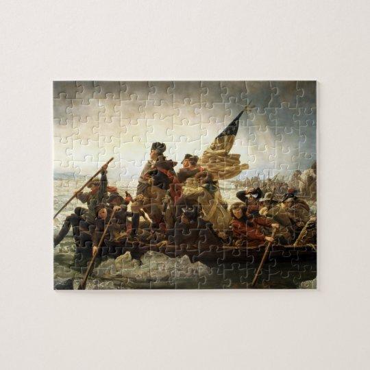 Washington Crossing the Delaware - Leutze (1851) Jigsaw Puzzle