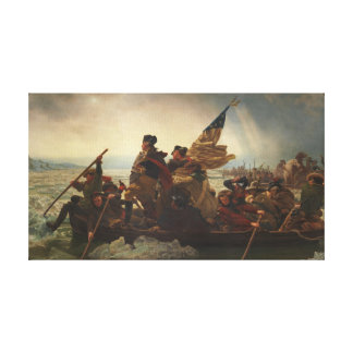 Washington Crossing the Delaware Painting Gallery Wrapped Canvas
