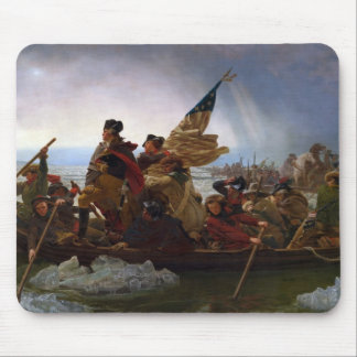 Washington Crossing the Delaware - US Vintage Art Mouse Pad