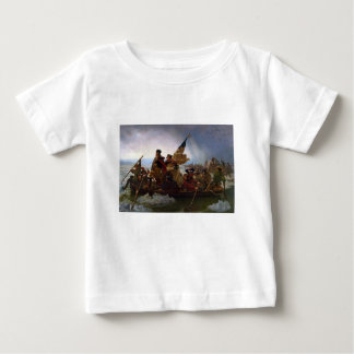 Washington Crossing the Delaware - Vintage US Art Baby T-Shirt