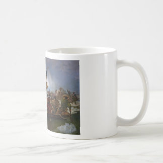 Washington Crossing the Delaware - Vintage US Art Coffee Mug