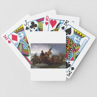 Washington Crossing the Delaware - Vintage US Art Poker Deck