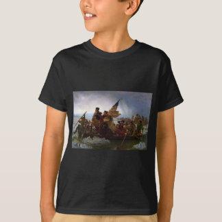 Washington Crossing the Delaware - Vintage US Art T-Shirt