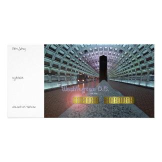 Washington D.C. and the Metro Subway Photo Cards
