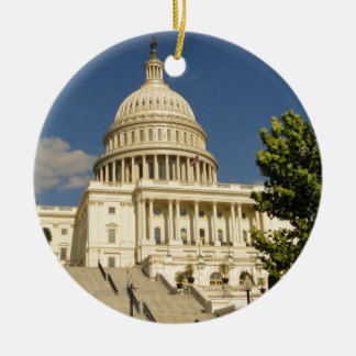Washington D.C. Capitol Building Ceramic Ornament