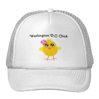 Washington D.C. Chick Trucker Hat