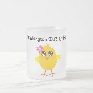 Washington D.C. Chick Coffee Mug