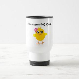 Washington D.C. Chick Coffee Mugs
