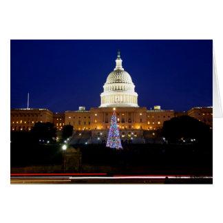 Washington, D.C. Christmas Tree Greeting Card